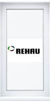 Окно одностворчатое 1000x600 REHAU Intelio 80