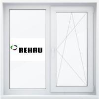 Окно двустворчатое 1400x1200 REHAU Intelio 80