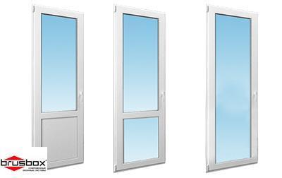 Двери балконные ПВХ ВRUSBOX