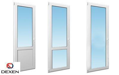 Двери балконные ПВХ DEXEN