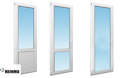 Двери балконные ПВХ Rehau
