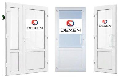 Двери из ПВХ профиля Dexen