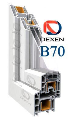 Окна Dexen B70